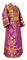 Subdeacon vestments - Sloutsk metallic brocade B (violet-gold), Standard design