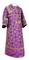 Subdeacon vestments - Altaj metallic brocade B (violet-gold), Standard design