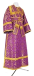 Subdeacon vestments - metallic brocade B (violet-gold)