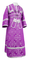 Subdeacon vestments - Alania metallic brocade B (violet-silver), Economy design