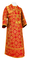 Subdeacon vestments - Altaj metallic brocade B (red-gold), Standard design