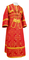 Subdeacon vestments - Soloun metallic brocade B (red-gold), Standard design
