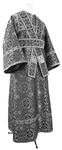 Subdeacon vestments - metallic brocade B (black-silver)