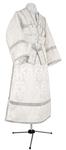 Subdeacon vestments - metallic brocade B (white-silver)