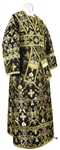 Subdeacon vestments - metallic brocade BG1 (black-gold)