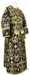Subdeacon vestments - metallic brocade BG1 (black-gold)