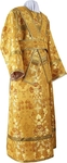 Subdeacon vestments - metallic brocade BG1 (yellow-gold)