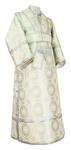 Subdeacon vestments - metallic brocade BG1 (white-silver)