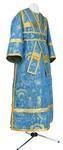 Subdeacon vestments - metallic brocade BG2 (blue-gold)