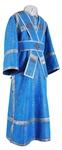 Subdeacon vestments - metallic brocade BG2 (blue-silver)