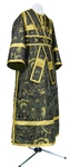 Subdeacon vestments - metallic brocade BG2 (black-gold)