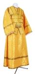 Subdeacon vestments - metallic brocade BG2 (yellow-gold)