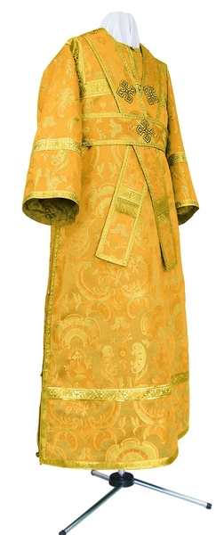 Subdeacon vestments - metallic brocade BG2 (yellow-gold)