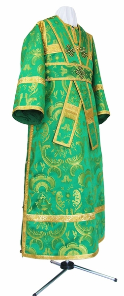 Subdeacon vestments - metallic brocade BG2 (green-gold)