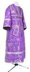 Subdeacon vestments - metallic brocade BG2 (violet-silver)