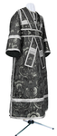 Subdeacon vestments - metallic brocade BG2 (black-silver)