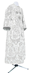 Subdeacon vestments - metallic brocade BG2 (white-silver)