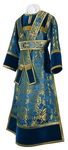 Subdeacon vestments - metallic brocade BG3 (blue-gold)