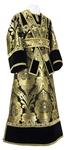Subdeacon vestments - metallic brocade BG3 (black-gold)