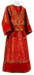 Subdeacon vestments - metallic brocade BG3 (red-gold)