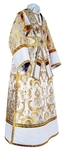 Subdeacon vestments - metallic brocade BG3 (white-gold)