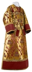 Subdeacon vestments - metallic brocade BG4 (claret-gold)