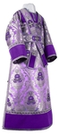 Subdeacon vestments - metallic brocade BG4 (violet-silver)