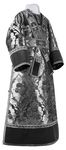 Subdeacon vestments - metallic brocade BG4 (black-silver)