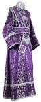 Subdeacon vestments - rayon brocade S2 (violet-silver)