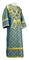 Subdeacon vestments - Ostrozh rayon brocade S3 (blue-gold), Standard design