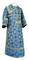 Subdeacon vestments - Altaj rayon brocade S3 (blue-gold), Standard design