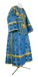 Subdeacon vestments - rayon brocade S3 (blue-gold)