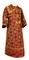 Subdeacon vestments - Altaj rayon brocade S3 (claret-gold), Standard design
