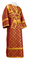 Subdeacon vestments - Ostrozh rayon brocade S3 (claret-gold), Standard design