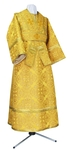 Subdeacon vestments - rayon brocade S3 (yellow-gold)