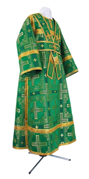 Subdeacon vestments - rayon brocade S3 (green-gold)