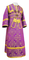 Subdeacon vestments - Alania rayon brocade S3 (violet-gold), Economy design
