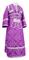 Subdeacon vestments - Alania rayon brocade S3 (violet-silver), Economy design