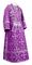 Subdeacon vestments - Soloun rayon brocade S3 (violet-silver), Standard design