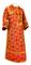 Subdeacon vestments - Altaj rayon brocade S3 (red-gold), Standard design