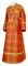 Subdeacon vestments - Zlatoust rayon brocade S3 (red-gold), Standard design