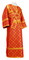 Subdeacon vestments - Ostrozh rayon brocade S3 (red-gold), Standard design