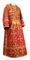Subdeacon vestments - Soloun rayon brocade S3 (red-gold), Standard design