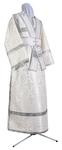 Subdeacon vestments - rayon brocade S3 (white-silver)