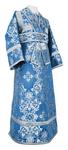 Subdeacon vestments - rayon brocade S4 (blue-silver)