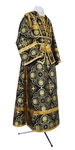 Subdeacon vestments - rayon brocade S4 (black-gold)