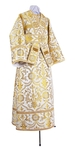 Subdeacon vestments - rayon brocade S4 (white-gold)