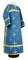 Clergy sticharion - Eufrosinia metallic brocade B (blue-gold), Standard design