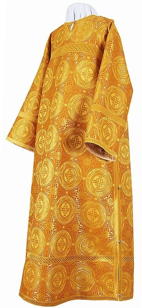 Clergy stikharion - metallic brocade B (yellow-claret-gold)