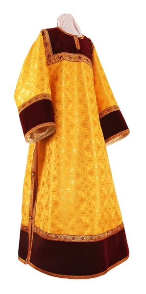 Clergy stikharion - metallic brocade B (yellow-gold)